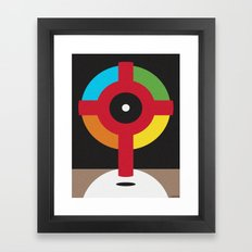 A MOON FOR ALL SEASONS Framed Art Print