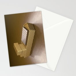 Chocolate Ship - 3D Art Stationery Cards
