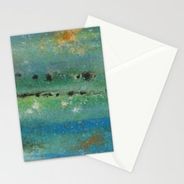 Eroded Planet Stationery Cards