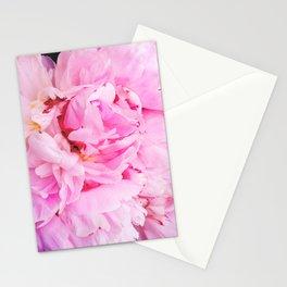 Pretty Pink Peony Stationery Cards