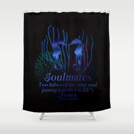 Seahorse Soulmate Shower Curtain