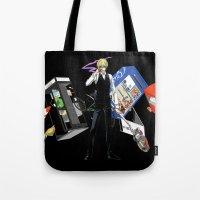 durarara Tote Bags featuring Heiwajima Shizuo 3 by Prince Of Darkness