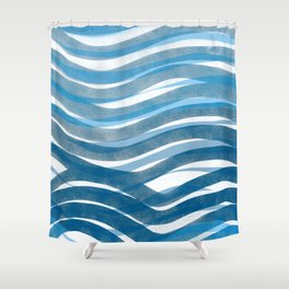 Ocean's Skin Shower Curtain