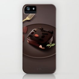 Chocolate Brownie iPhone Case