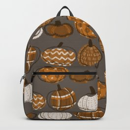 Pumpkin Party in Nougat Backpack