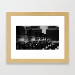 Axe Gang Framed Art Print