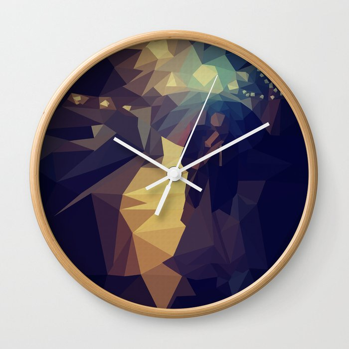 the cave Wall Clock
