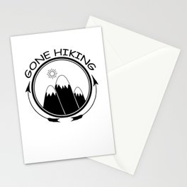 Gone Hiking Stationery Cards