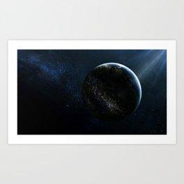 Earthlings Art Print