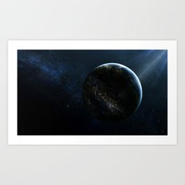 Earthlings Art Print