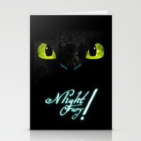 toothless Stationery Cards featuring Toothless by KitsuneDesigns