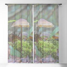 Slender Fungi Sheer Curtain