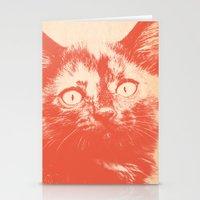 kitten Stationery Cards featuring KITTEN by Allyson Johnson