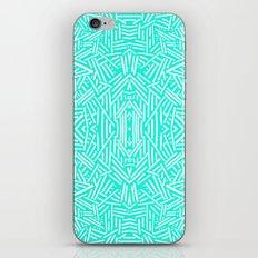 Radiate (Mint) iPhone & iPod Skin