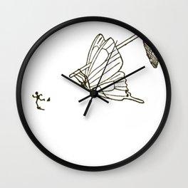 Butterfly Metamorphosis Wall Clock