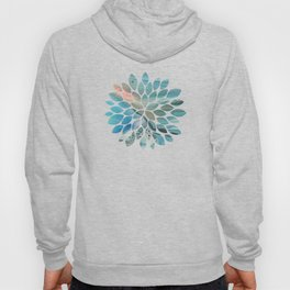 Pearl marble abstraction Hoody