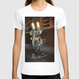 Old Microscope T-shirt