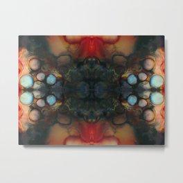 Dark Abstract Alien Design II Metal Print