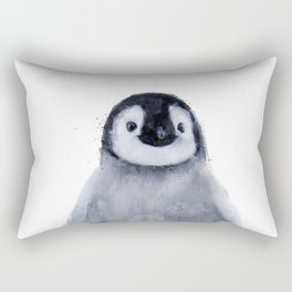 Little Penguin Rectangular Pillow