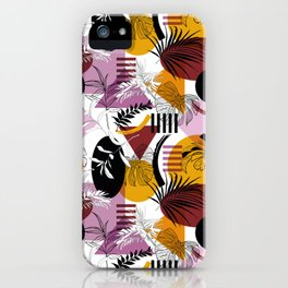 The Modern Autumn Abstract iPhone Case