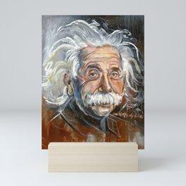 Einstein Mini Art Print