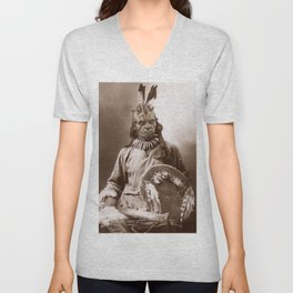 Sitting Maul Unisex V-Neck