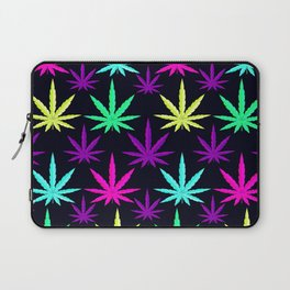 Colorful Marijuna Weed Laptop Sleeve