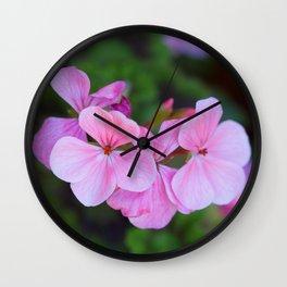 Bloom Through Change Wall Clock