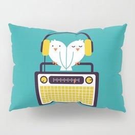 Radio Mode Love Pillow Sham