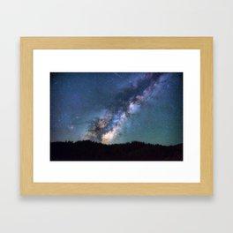 Milky Way I Framed Art Print