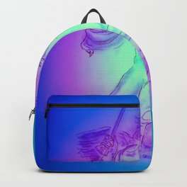 Heavenly apparition  Angel Music Backpack