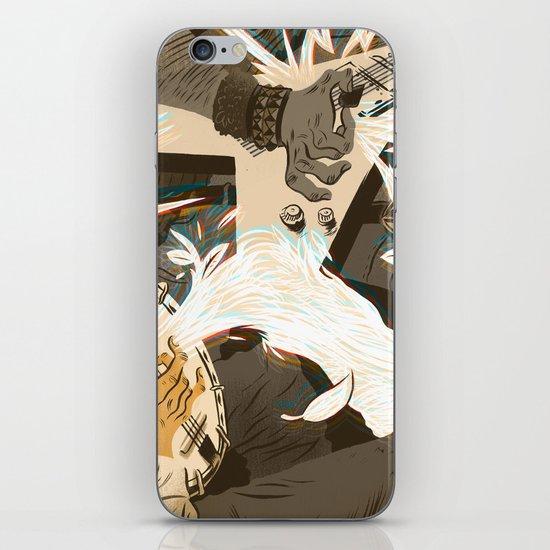 Folk vs. Metal iPhone & iPod Skin