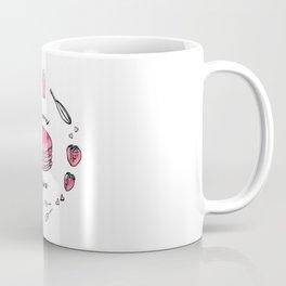 Macaron Fraise Coffee Mug