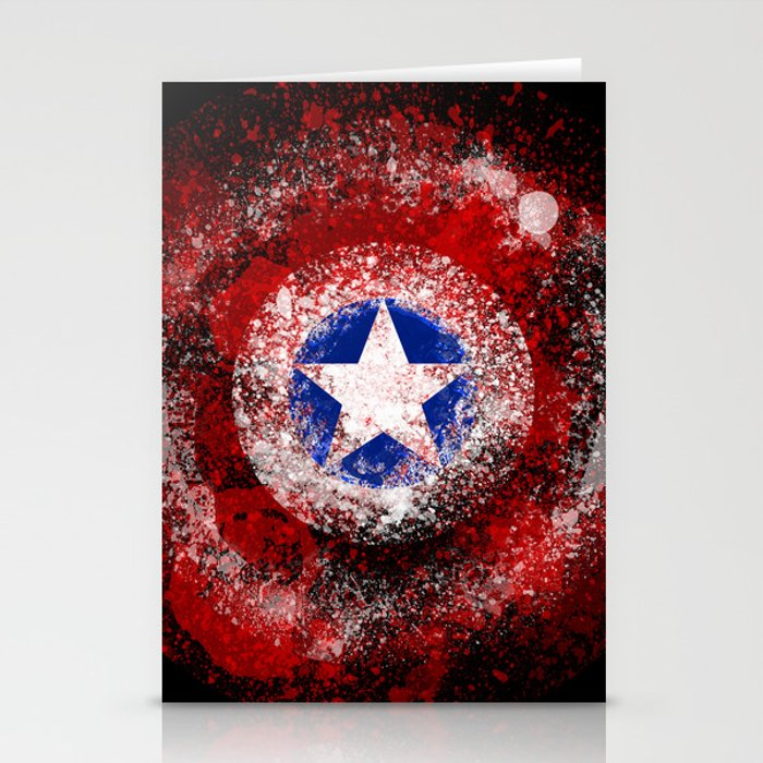 Avengers - Captain America Stationery Cards