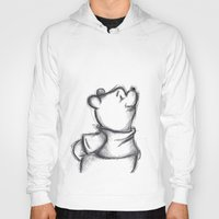 pooh Hoodies featuring Insightful Pooh by Makayla Wilkerson