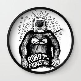 Robot-Monster Wall Clock