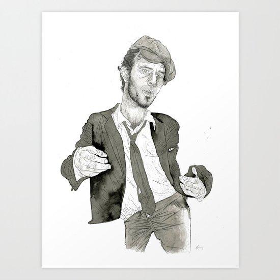 Tom Waits: The Early Years Art Print