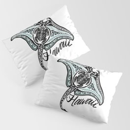Hawaiian Tribal Ray Pillow Sham