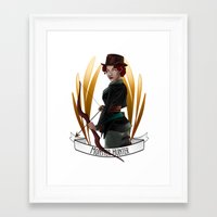 monster hunter Framed Art Prints featuring Steampunk Occupation Series: Monster Hunter by kortothecore