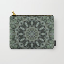 Greens Abstract Carry-All Pouch