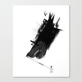 Flagman Canvas Print