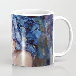 The Powdered Blue Wig by Kim Marshall Coffee Mug