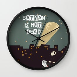 He's Not Dead Wall Clock