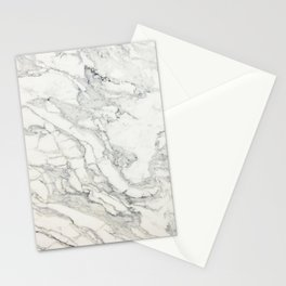 White Marble 010 Stationery Cards