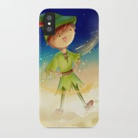 peter pan iPhone & iPod Cases featuring Peter Pan by CodiBear