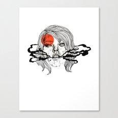 O-Face Canvas Print