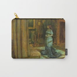 John Everett Millais - The Eve of St Agnes Carry-All Pouch