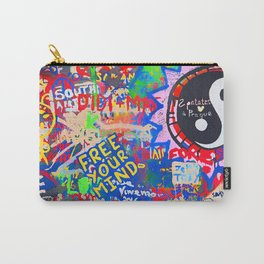 In the street No5, Messages Carry-All Pouch
