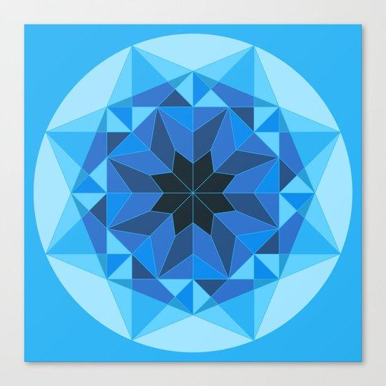 Deconstructed Diamond Canvas Print