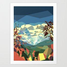 Landshape Art Print